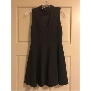 Black LuLus Skater Dress